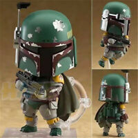 Star Wars The Empire Strikes Back Nendoroid 706 Boba Fett PVC Figure Toy 4""
