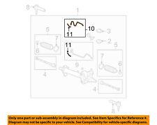 GM OEM Steering Gear-Pipe Kit 19167838