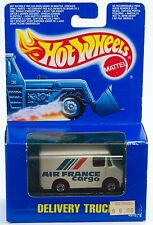 Hot Wheels Air France Cargo Delivery Truck New In Box 1990