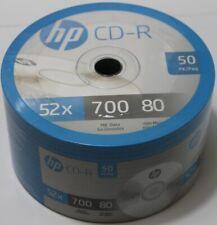 HP CD-R CDR Blank Disc Media 80Min 700MB 50 PACK