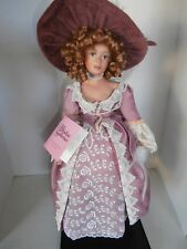 VERY RARE PARADISE GALLERIES PORCELAIN DOLL  DOLL SIZE 16INCH