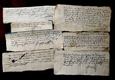 Collection Of Autographed Handwritten Documents
