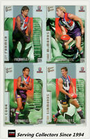 2004 Select AFL Ovation Trading Card Base Card Team Set Fremantle (10)