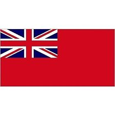 High Quality Red Ensign Printed Boat Flag - 1/2 Yard (30cm x 45cm)