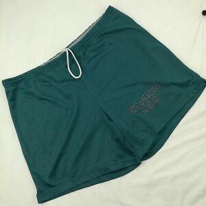 VTG 90s Champion Mens Large Philadelphia Eagles Green Gym Mesh Workout Shorts