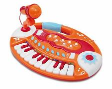 Bontempi BK 1825 Spielzeugtastatur mit Mikrofon, 18 Tasten