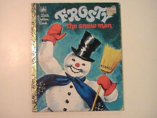 1980 Frosty the Snow Man A Little Golden Book 32nd Printing