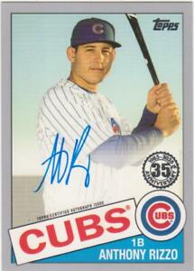 2020 TOPPS SERIES 2 BASEBALL ANTHONY RIZZO PLATINUM AUTO 1/1 AUTOGRAPH