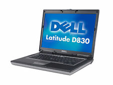Refurbished Dell Notebook Latitude D830 N series with Windows10 Pro