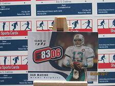 2006 Topps NFL 8306 #NFL4 Dan Marino