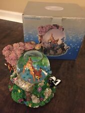 MIB Disney Store Bambi & Friends Snowglobe Song Waltz Of The Flowers Beautiful