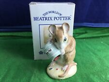 Lovely Royal Albert Beatrix Potter ''Hunca Munca Spills The Beads'' USC RD8707