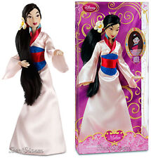 "NEW 2013 12"" Disney Store Chinese Princess MULAN Classic doll Kimono Outfit"