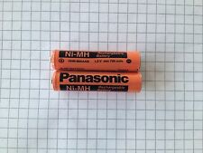2 X Panasonic Akkus 800mAh für Siemens Gigaset S79H S810 S810A Telefon Accu