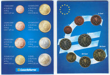 Ireland 2002 - Set of 8 Euro Coins (UNC)