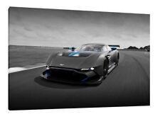 Aston Martin Vulcan - 30x20 Inch Canvas - Framed Picture
