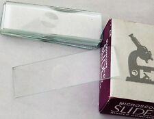 Blank Microscope Slide Single Concave Cavity Depression Slides