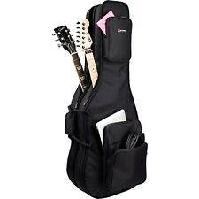 PROTEC CF234DBL DOUBLE ELECTRIC GUITAR GIG BAG - GOLD SERIES BLACK