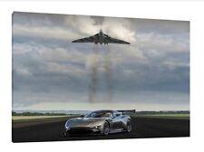 Aston Martin Vulcan - 30x20 Inch Canvas - Framed Picture Vulcan Bomber