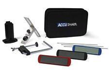 NEW ACCU 060C ACCUSHARP 3 STONE PRECISION KNIFE TOOL SHARPENER KIT SALE 7119894