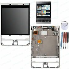 ECRAN LCD + VITRE TACTILE CHASSIS COMPLET BLACKBERRY PASSPORT ARGENT SILVER Q30