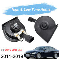 110-125db 410/510Hz Dual Pitch Snail Horn For BMW 3 Series F30 F31 F34 11-19