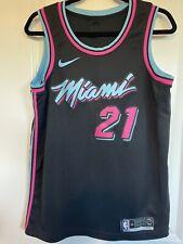 Hassan Whiteside Miami Heat Vice Nights City Edition Nike Swingman Jersey Size M