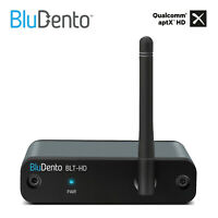 5.0 aptX HD True HiFi Bluetooth Audio Receiver DAC Stereo Audio Adapter BluDento