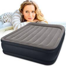 Materasso Gonfiabile Intex Matrimoniale 64136 airbed queen letto con pompa Rotex
