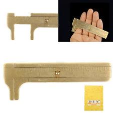 NEW Dual scale Sliding Gauge Pocket Caliper Vernier DIY Jewelry Measuring Tool..