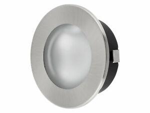 2in1 Bombilla G4 12V Mueble Foco Empotrable Metal Cristal Eisengebürstet