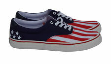 Polo Ralph Lauren Thorton USA American Flag Tennis Shoes Red White Blue