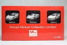 Kyosho 1/64 Ferrari ENZO F50 F40 White 30th Aniv limited 3SET Tracking Number
