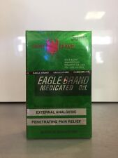 Eagle Brand Medicated Oil 1.2 FL OZ - 1 BIG 36 ml Bottle - Dau Xanh Con O