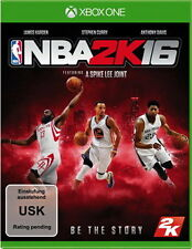 Xbox One NBA 2K16 Basketball 2016 D1 Version inkl. 4 Coverdesigns NEUWARE
