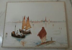 Antico acquerello Venezia 31x24 cm