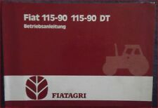 Fiat Agri Schlepper 115-90 , 115-90 DT Betriebsanleitung
