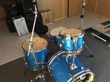 JAZZ SET  !!  TAMBURO Schlagzeug T5 Serie Plus in blue sparkle
