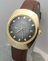 Vintage VULCAIN 17Jewels Men's manual winding watch cal.AS 1904 Swiss made 1970s