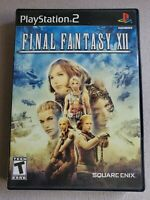 Final Fantasy XII (Sony PlayStation 2, 2006) PRE-OWNED