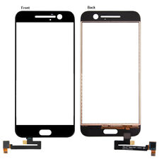 For HTC 10 One M10 Front Touch Screen Digitizer Outer Glass Panel Black Repair