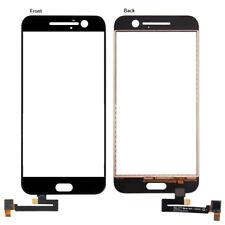 Para HTC 10 One M10 Frontal Pantalla Táctil Digitalizador Cristal Panel Reparación Negro Exterior