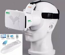 2017 3D Virtual Reality VR Glasses Headset Box Helmet for Mobile+ Remote Gamepad