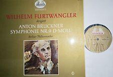 Bruckner Symphony sinfonia 9 Furtwängler LP HELIODOR 88109 NM