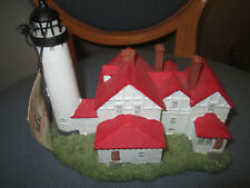 Scaasis Originals Inc Point Iroquois Mi Lighthouse New With Tags & Original Box