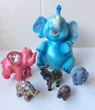 Bulk Elephant Figurines x 6