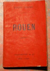 GUIDE JOANNE  ROUEN  HACHETTE 1901