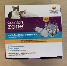 Comfort Zone Pheromone Technology Multi-Cat Diffuser Home Kit
