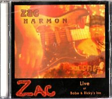 Zac Harmon Live at Babe & Ricky's Inn- 2002 Funk/Soul Blues CD- Yazoo City/Smile