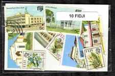 Fidji 10 timbres différents